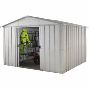 10x8ft Yardmaster Apex Roof Metal Shed
