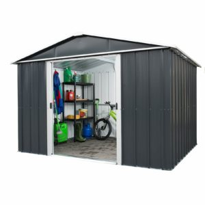 10x8ft Yardmaster Metal Apex Shed