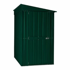 4x8ft Lotus Metal Lean To Shed Heritage Green