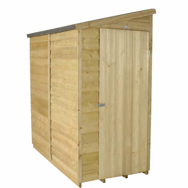 6x3ft Forest Overlap Pent Wooden Shed