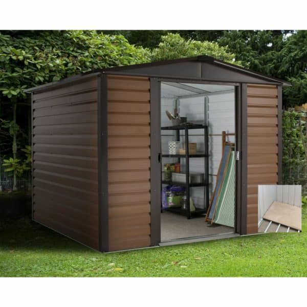 6x6ft Yardmaster Woodgrain Shed & Floor Frame