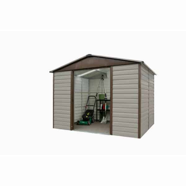 8x6ft Yardmaster Shiplap Metal Shed