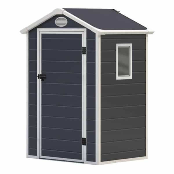 Charles Bentley Plastic Shed 4.4ft x 3.4ft