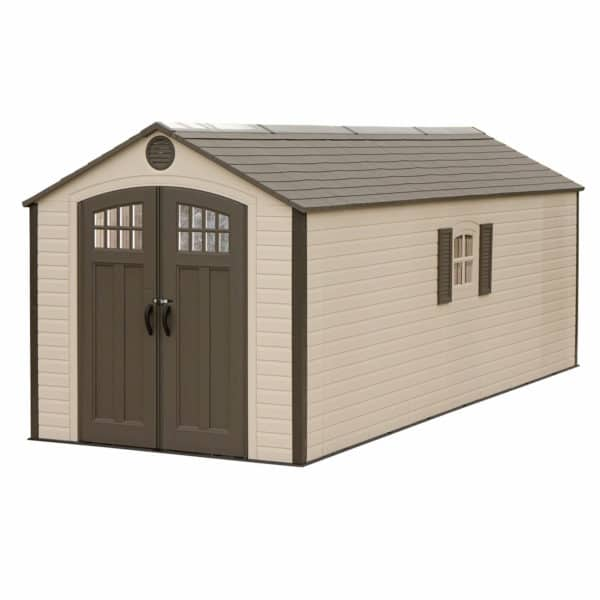 Lifetime 8x20 ft Outdoor Storage Shed