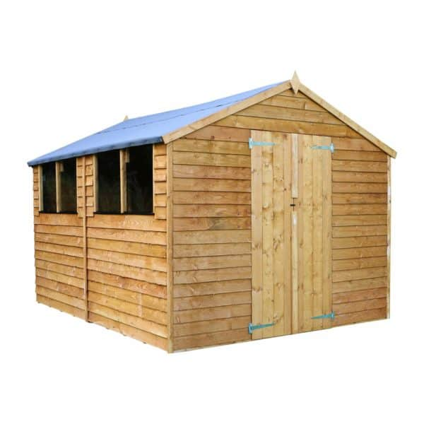Mercia 12x8ft Overlap Apex Shed