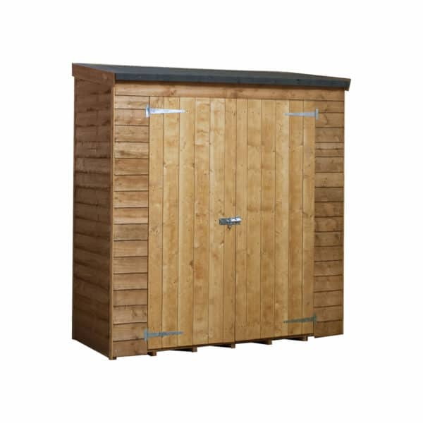 Mercia 6 x 2ft 6in Overlap Pent Storage Shed (Installation Included)