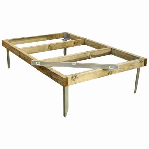 Mercia 6x4ft Pressure Treated Wooden Shed Base - Installation Included