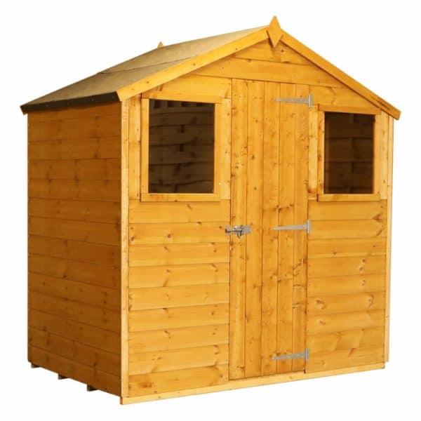 Mercia 6x4ft Shiplap Apex Wooden Shed