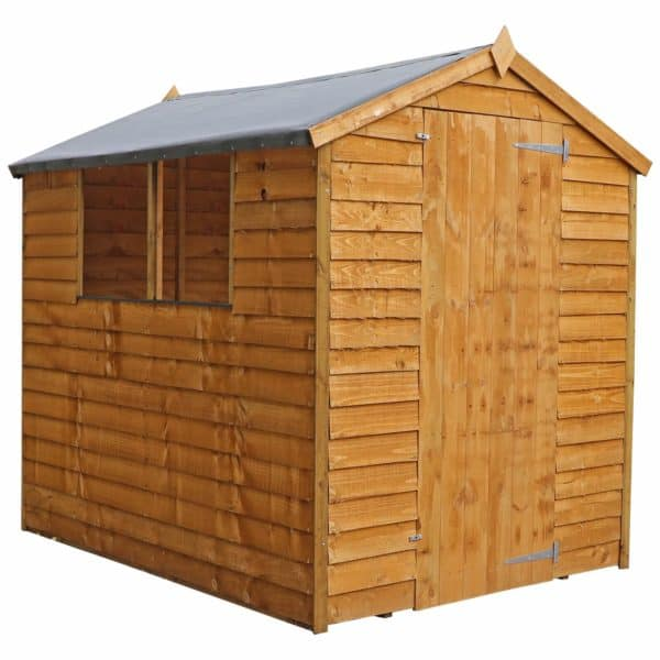 Mercia 7 x 5ft Overlap Apex Shed (Installation Included)