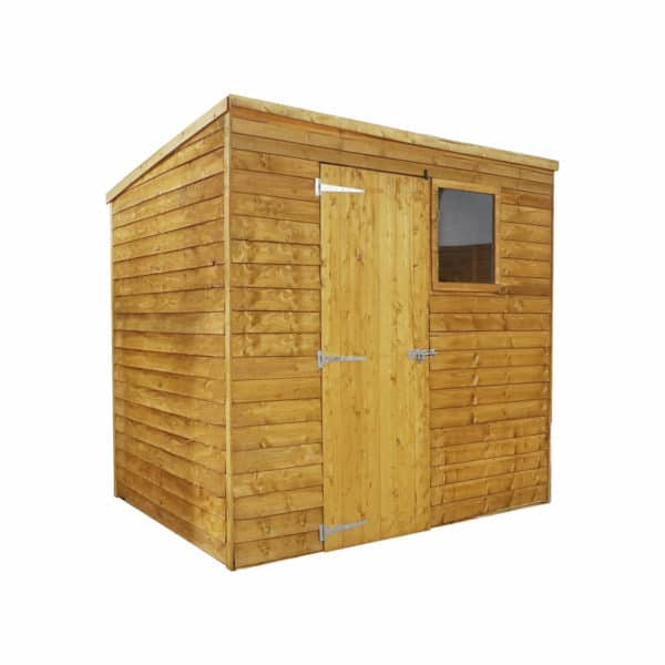 Mercia 7x5ft Overlap Pent Shed