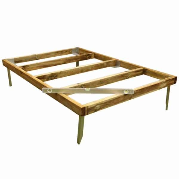 Mercia 7x5ft Pressure Treated Wooden Shed Base - Installation Included
