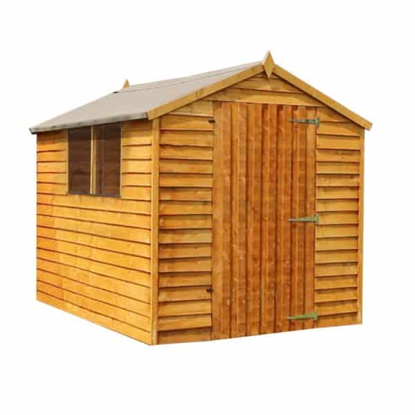 Mercia 8x6ft Overlap Apex Shed