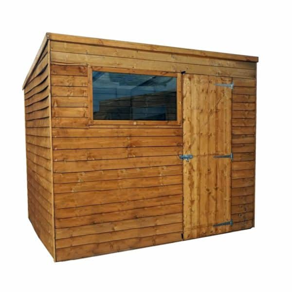Mercia 8x6ft Overlap Pent Shed