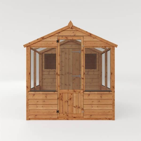 Mercia 8x6ft Traditional Apex Combi Greenhouse and Shed