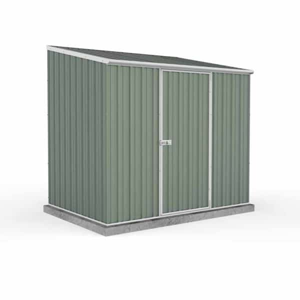 Mercia Garden Products Absco Space Saver 1.52 x 1.52m Pent Metal Shed