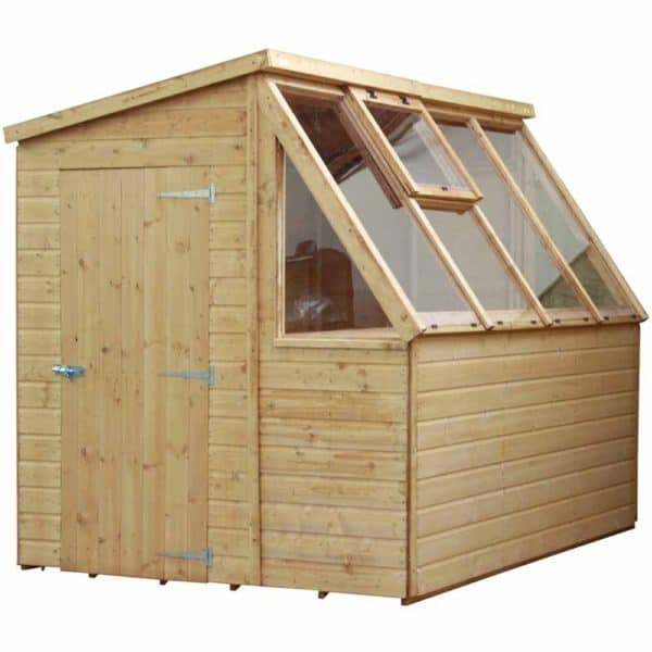 Mercia Garden Products Mercia Premium 8 x 6ft Potting Shed Wood