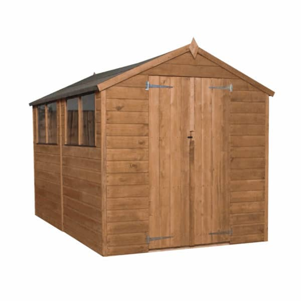 Mercia (Installation Included) 10x6ft Shiplap Apex Shed