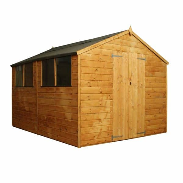 Mercia (Installation Included) 10x8ft Shiplap Apex Shed