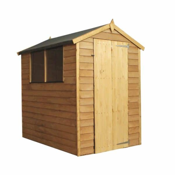 Mercia (Installation Included) 6x4ft Overlap Apex Shed