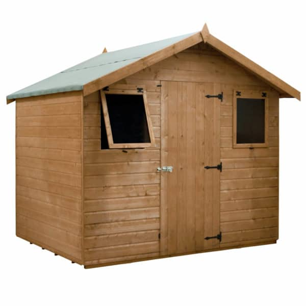 Mercia (Installation Included) Premium 6x8ft Shiplap Apex Shed