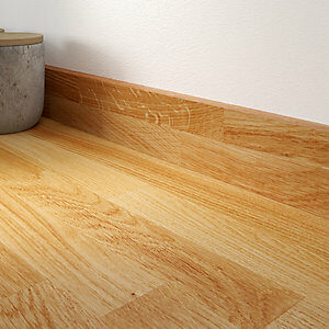 18mm Oak with Natural Oil Upstand 70mm x 3m