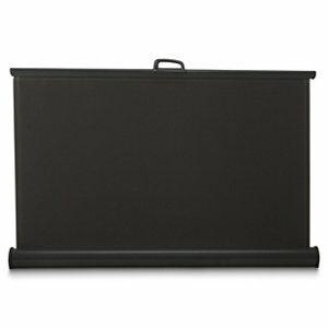 Aluminium & polyester (PES) Grey Terrace blind (H)1.6m (W)3m