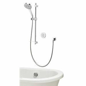Aqualisa Unity Q Smart Divert Gravity Pumped Concealed Shower with Adjustable Head & Bath Filler