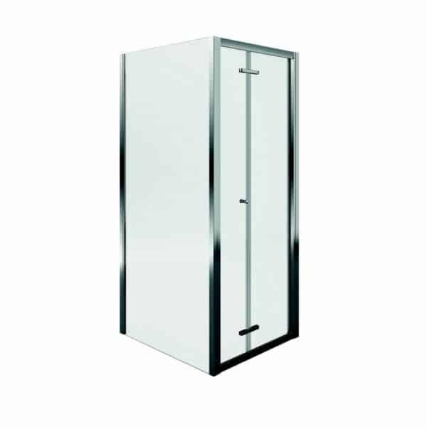 Aqualux Bi-Fold Door Shower Enclosure - 800 x 800mm