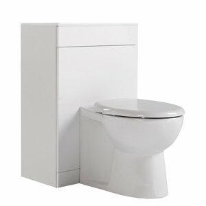 Ardenno Gloss White Toilet unit