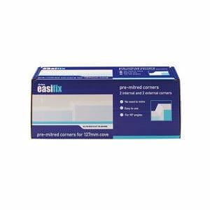 Artex Easifix Classic C-shaped Paper faced plaster External Coving corner (L)340mm (W)127mm Pack of 4