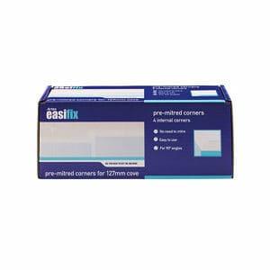 Artex Easifix Classic C-shaped Paper faced plaster Internal Coving corner (L)340mm (W)127mm Pack of 4