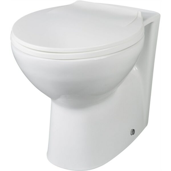 Balterley Adley Back To Wall Pan & Soft Close Toilet Seat