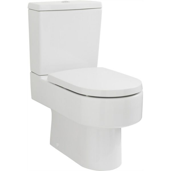 Balterley D Shape WC Pan, Cistern and Soft Close Toilet Seat