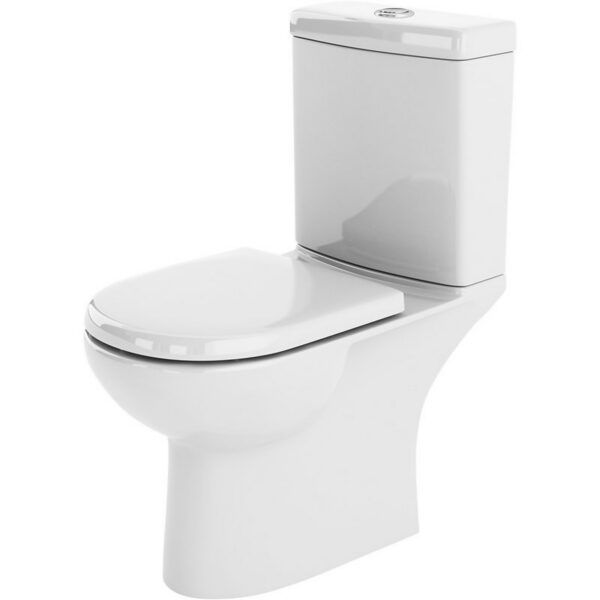 Balterley Ridley Compact Pan, Cistern and Soft Close Toilet Seat