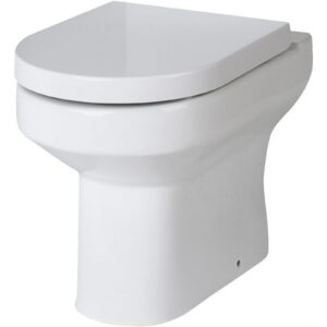 Balterley Vision Back To Wall Pan and Soft Close Toilet Seat