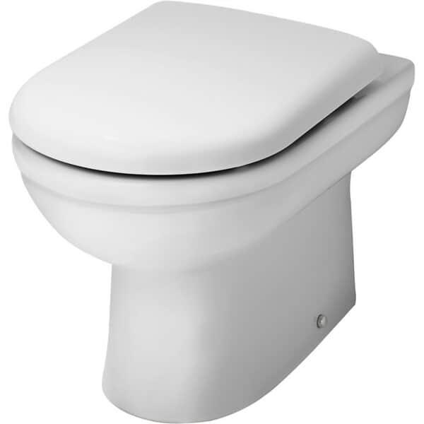 Balterley Vito Back to Wall Pan and Soft Close Toilet Seat