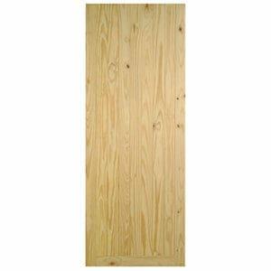 B&Q Framed ledged & braced Knotty pine LH & RH External Front Door (H)1981mm (W)762mm