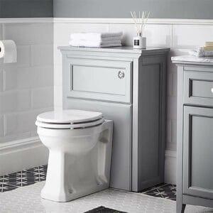 Bathstore Savoy Toilet Unit - Gun Mental Grey