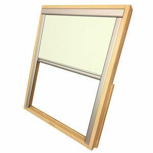 Beige Blackout Roller Roof window blind (W)78cm (L)98cm