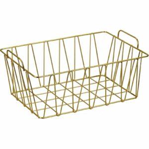 Big Wire Basket - Natural Gold