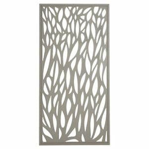 Blooma Neva Leaf 1/2 Fence panel (W)0.88m (H)1.79m