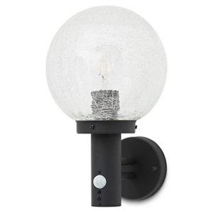 Blooma Sherbrooke Matt Black Mains-powered Halogen Outdoor Wall light