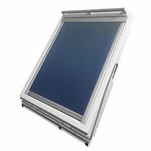 Blue Blackout Roof window blind (W)78cm (L)118cm