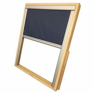 Blue Blackout Roof window blind (W)78cm (L)140cm