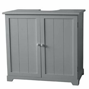 Classic Under Sink Cabinet with 2 Doors/1 Shelf - Grey
