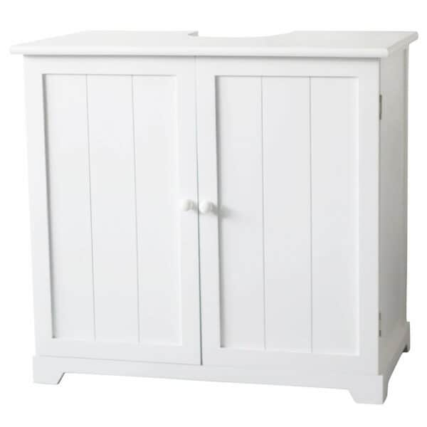 Classic Under Sink Cabinet with 2 Doors/1 Shelf - White