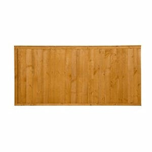 Closeboard Fence panel (W)1.83m (H)0.91m Pack of 5