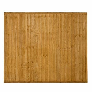 Closeboard Fence panel (W)1.83m (H)1.52m