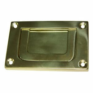 Cooke & Lewis Campaign bail Brass effect Cabinet Pull handle