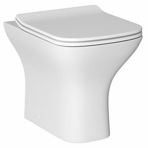 Cooke & Lewis Lanzo Contemporary Back to wall Toilet with Soft close seat